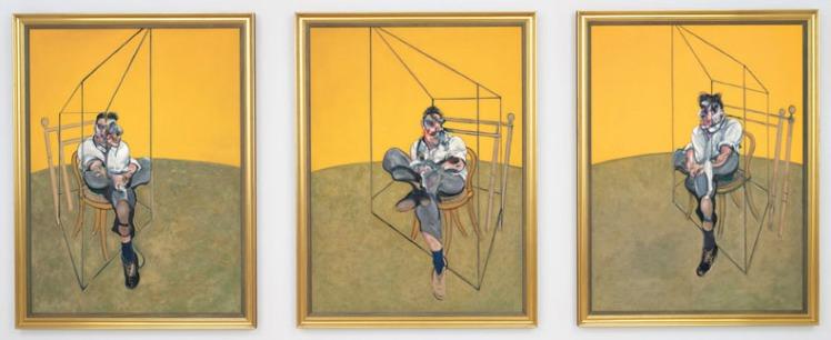Tre Studi di Lucian Freud