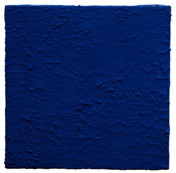 Monocromo blu senza titolo