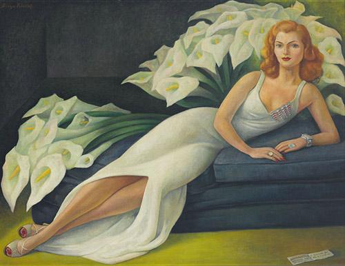 Natasha Gelman - Diego Rivera