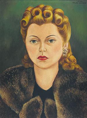Ritratto di Natasha Gelman - Frida Kahlo
