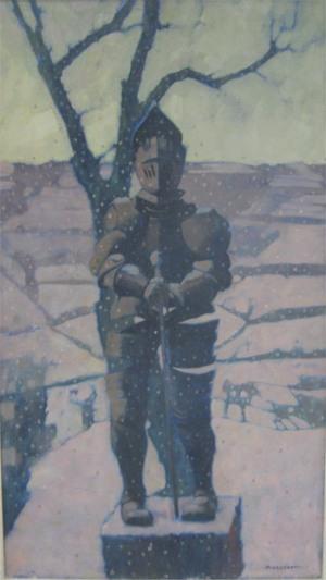 Armatura sotto la neve