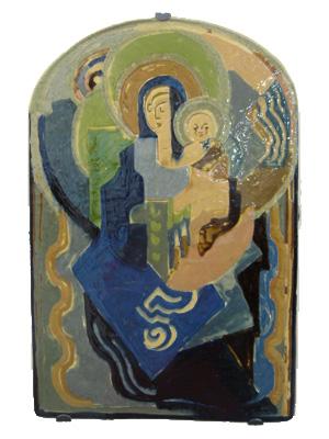 Vergine-bambino-Anne-Dangar