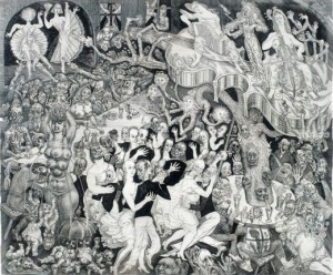 Cabaret - Eduard Wiiralt
