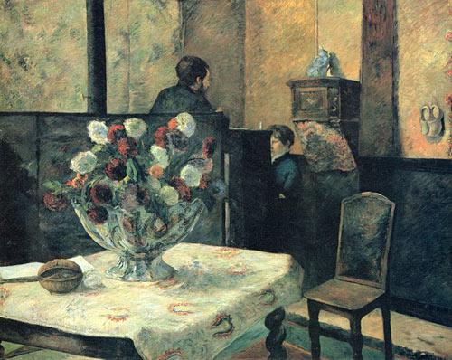 Interno del pittore a Parigi, rue Carcel