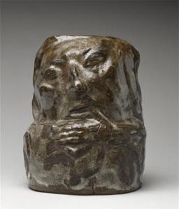 Ritratto di Gauguin a forma di testa grottesta
