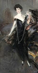 Ritratto di Donna Franca Florio - Giovanni Boldini
