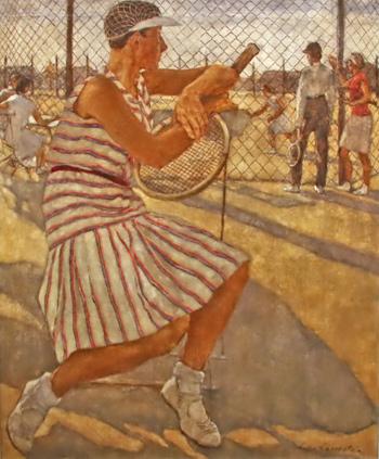 Giocatrice di tennis - Lotte Laserstein