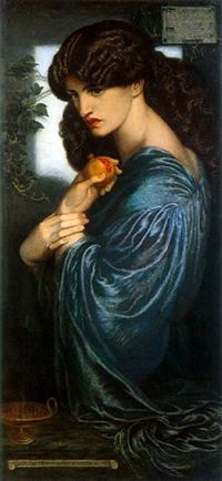 Persefone - Dante Gabriel Rossetti