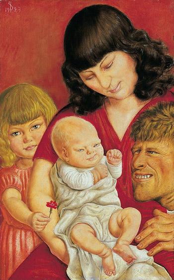 La Famiglia dell'Artista - Otto Dix