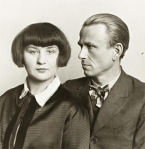 Otto Dix e la moglie Martha