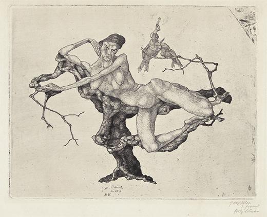 Vergine (sognante) - Paul Klee