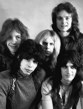 Il gruppo musicale degli Aerosmith
