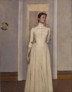 Ritratto di Marguerite Khnopff - Fernand Khnopff