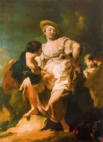 L'Indovina - Giovanni Battista Piazzetta