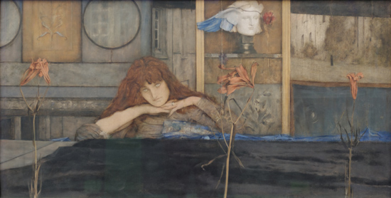 I Lock My Door Upon Myself - Fernand Khnopff