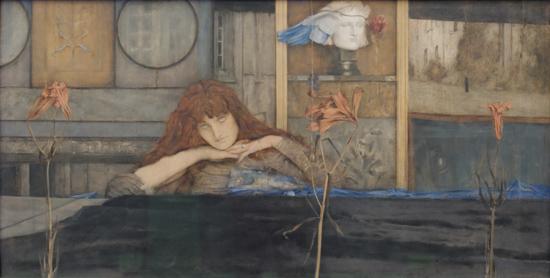I Lock My Door Upon Myself - Fernand Khnopff