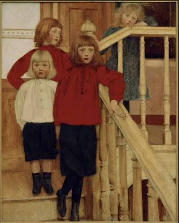 Ritratto dei figli del Signor Nève - Fernand Khnopff