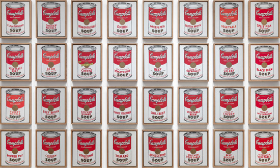 Lattine di zuppe Campbell's - Andy Warhol
