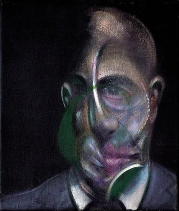 Ritratto di Michel Leiris - Francis Bacon