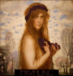 Primavera - Franz Von Stuck